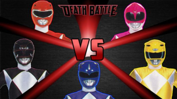 Mighty Morphin Power Rangers Battle Royale by Simbiothero
