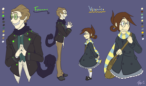 CC: Veronica and Ferdinand by forte-girl7