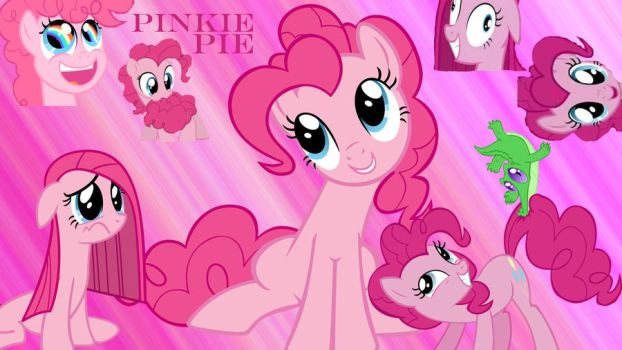 Pinkie Pie Collage by Busted-Love
