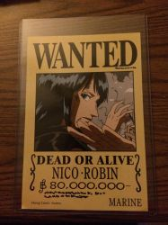 Wanted: Nico Robin by powerkidzforever