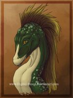Mullet Dragon Head by digital-blood