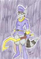 Sly Cooper by Mister-Saturn