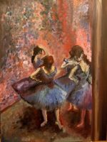 Blue Dancers copy of Degas by gold-paroles