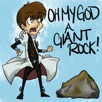 IT'S A ROCK AND IT'S GIANT by Ripper-Roo