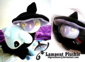 Lampent Plushie by Lilgreenhorn