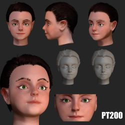 Zbrush sculpt by PT200