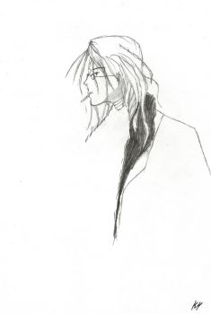 2008 Sketch 5 - Loveless - Soubi by RoseSparrow