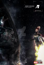 Poster: Avengers 4 Endgame | I found it. by 4n4rkyX