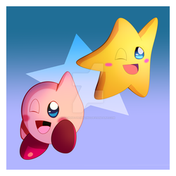 Kirby And Starfy 7-17-17 by GaneneTheInkling
