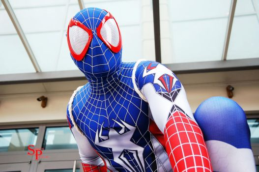Captain Spiderman (2) by Shecktor-Photography