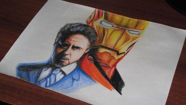 Iron man by GraficBorges