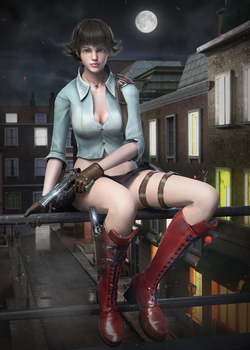 Devil May Cry 3 - Mary by DemonLeon3D