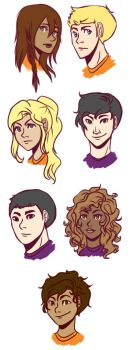 Seven Half-Bloods Shall Answer the Call by cookiekhaleesi