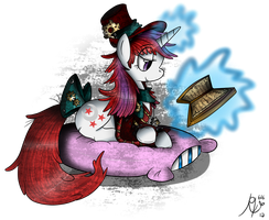 :AT: Steampunk Moonlight by RubyRedOrca