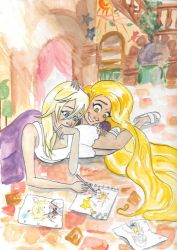 Tangled Memories by paintingmyheartred