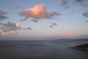 Bay of Collo at sunset by yuushi01