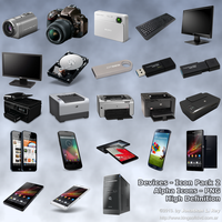 Devices - Alpha Icons n' PNG - Pack 2 by jonathanrey