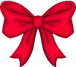 Pixel Christmas Bow by stuck-in-suburbia