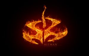 HITMAN Fiery logo by REXTON