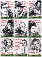 Night of the Living Dead sketch cards 3 by tdastick
