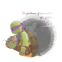 [TMNT] Unable to Forget... by Fold39Crane