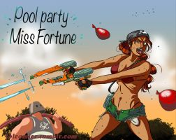 Pool Party Miss Fortune by thanekats