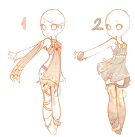 Outfit Adopts #6-7 (Closed) by Mp--Adopts
