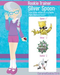My Little Rookie Pokemon Trainer - Silver Spoon by CaramelCookie