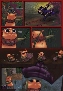 Teemo's Messed Up Trip part.2 by thanekats