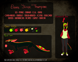 Elaine 'Sinope' Thompson by uncommonster