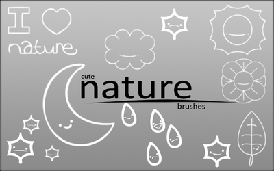 Earth Day Brushes by starrily