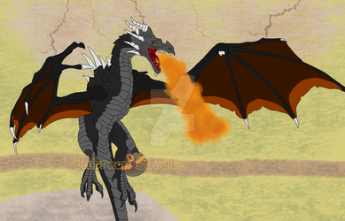 GoT Fire Dragon. Day 6 (Smaugust) by UmbreonStudios