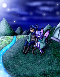 Finding Comfort With The Stars and Each Other by EMMYtheK