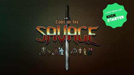 Code of the Savage Kickstarter launch! by Eman333