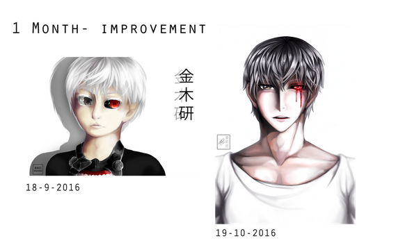 Draw this again - 1 month improvement edition by Mahepii