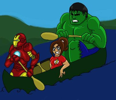 Avengers Trojo by RedTigress