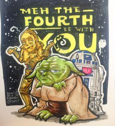 MEH the Force be with You! by jonjmurakami