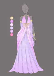 :: Commission Mar 01: Outfit Design :: by VioletKy