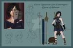 Elexia character sheet by Etirtifma