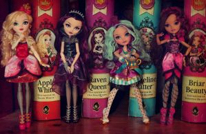 Ever After High dolls by Szklanooka