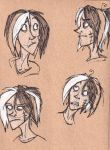 Chainey Sketches by TangerineVampire