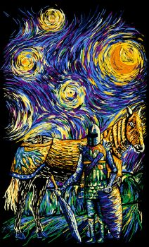 Starry Knight by Leinadelle