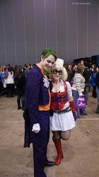 Arkham's most famous couple by deadeuphoric