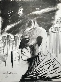 It's the batman  by calebconver