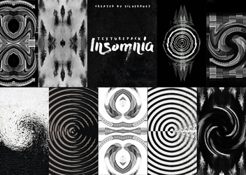 Texture pack - Insomnia|by SilverDust by heymaryjean