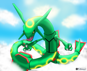 Rayquaza by TvSonic