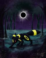 #197: Umbreon by Somnusvorus