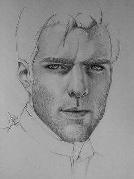Zachary Quinto by RonjaKnippers