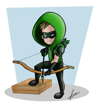 The Green Arrow by And0Ilustrand0