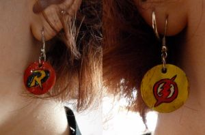 Young Justice Earing by Lynah